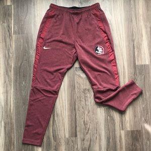 NWOT Florida State Nike Dri-Fit Sweatpants